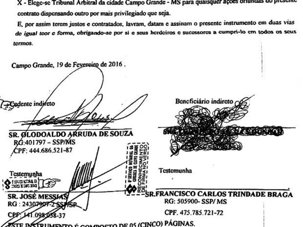 Juiz recebeu diversos contratos em seu nome (Foto: Odilon de Oliveira / Arquivo Pessoal)