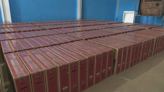 PRF recupera mais de meio milhão de reais em TVs roubadas em RO