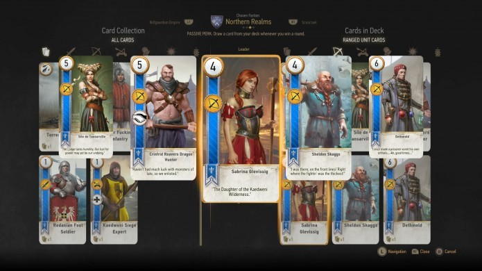 Jogue Gwent para ganhar, além de cartas, algumas boas moedas de ouro (Foto: Reprodução/