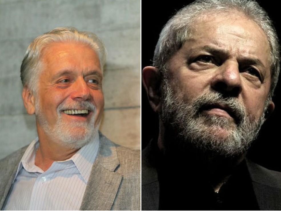 Investigação sobre Lula e Jacques Wagner após delação da Odebrecht é enviada por Fachin ao TRF1. (Foto: Manu Dias/GovBA e Reprodução/TV Globo)