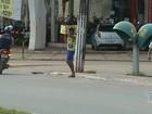 Em Santarém, faixas de pedestres apagadas oferecem riscos no trânsito