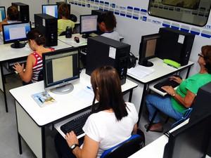 Faetec oferece cursos gratuitos de Informática (Foto: Divulgação Faetec/Felipe Corrêa)