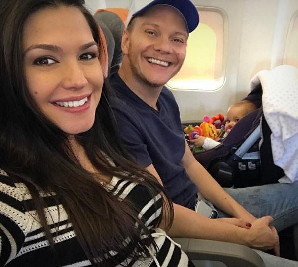 Thais Fersoza, Teló e Melinda (Foto: Reprodução Instagram)