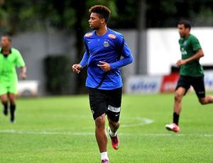 André no treino do Santos (Foto: Ivan Storti / Site Oficial do Santos)