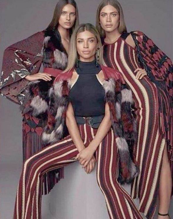 Grazi, Valentina Sampaio e Taynara Resende (Foto: Reprodução/Instagram)