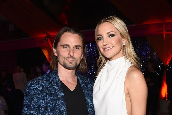 Kate Hudson e Matthew Bellamy (Foto: Getty Images)