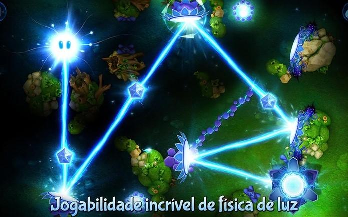 God of Light é um puzzle com luzes (Foto: Divulgação)