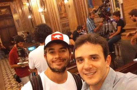 Anderson di Rizzi e Guilherme Nasraui  (Foto: Divulgação)