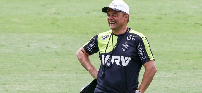 Diego Aguirre, técnico do Atlético-MG (Foto: Bruno Cantini / Atlético-MG)
