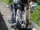 Um morre e 3 ficam em estado grave em batida na BR-277, em Guarapuava