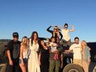 Caitlyn Jenner curte Dia dos Pais nos Estados Unidos com a família