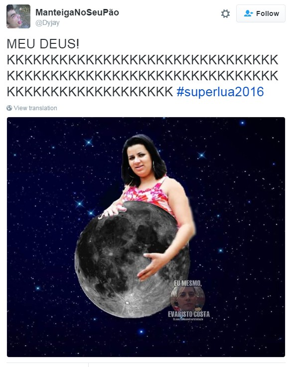 meme superlua 8 (Foto: Reprodução/Twitter)