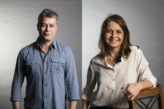 Fábio Assunção e Drica Moraes (Foto: TV Globo)