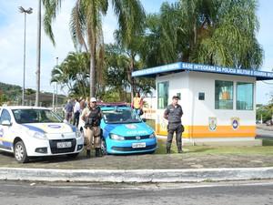 Base integrada da Polícia MIlitar e Guarda Municipal em Niterói, RJ (Foto: Luciana Carneiro/ Divulgação)