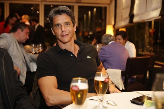 Márcio Garcia em jantar em Cannes (Foto: Felipe Panfili / AgNews)