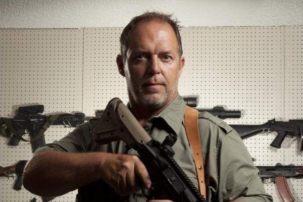 O empresário Will Hayden em cena de Sons of Guns (Foto: Reprodução)