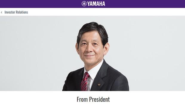 Takuya Nakata presidente da Yamaha Corporation