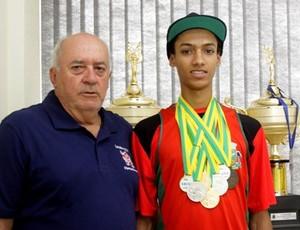 Iago Martins - Oitavo Brasileiro melhor ranqueado nos 400 metros com barreira (Foto: Aloisio Mauricio / Ascom )