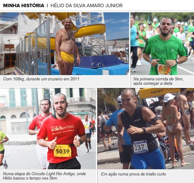 Galeria - Hélio da Silva Amaro Junior, Eu Atleta  (Foto: Arquivo Pessoal)