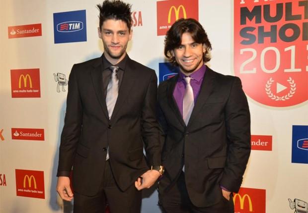 MUnhoz e Mariano (Foto: AgNews)