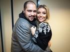 Luiza Possi e Tiago Abravanel soltam a voz nos bastidores do SuperStar