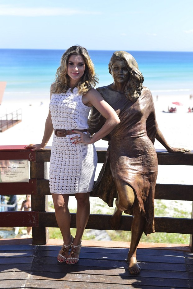 Flavia Alessandra (Foto: André  Muzell/Ag. News)