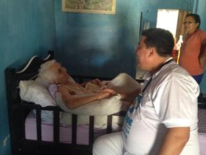 Ricardo montou consultório dentro de casa para receber pacientes em Lucrécia, RN (Foto: Arquivo pessoal/Ricardo Dantas)