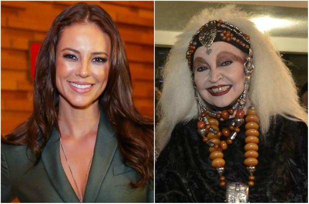 Paolla Oliveira vai interpretar Elke Maravilha em filme sobre a vida do Chacrinha (Foto: Manuela Scarpa/Brazil News - Roberto Teixeira/EGO)