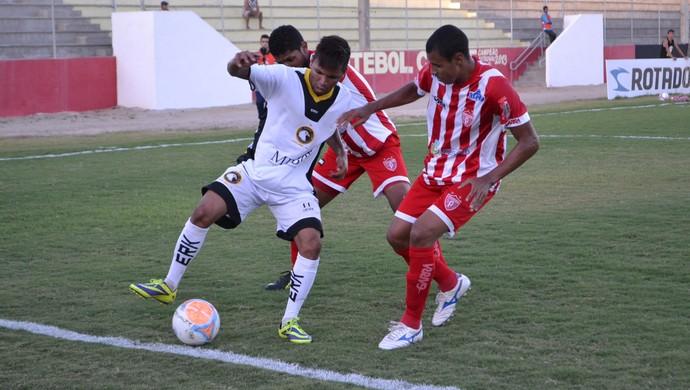 Globo FC supera Potiguar de Mossoró e é campeão do primeiro turno (Foto: Jocaff Souza)