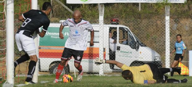 Aracruz, na Série D do Campeonato Brasileiro (Foto: Vitor Jubini/A Gazeta)