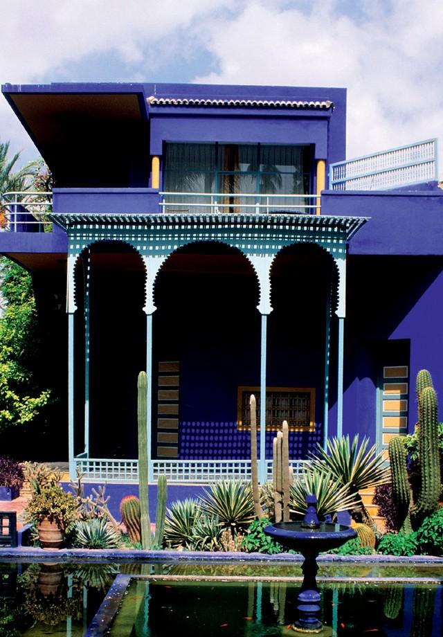 A residência marroquina do estilista (Foto:  Getty Images, Glow Images e Divulgação)
