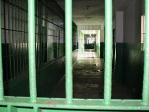 Adail foi transferido para Complexo Penitenciário Anísio Jobim (Compaj) nesta quarta (19) (Foto: Jamile Alves/G1 AM)