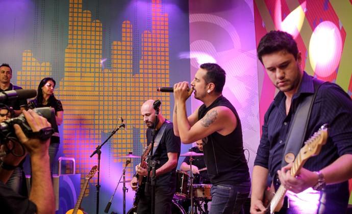 Djoa Estúdio C (Foto: Bruno Vaz/RPC)