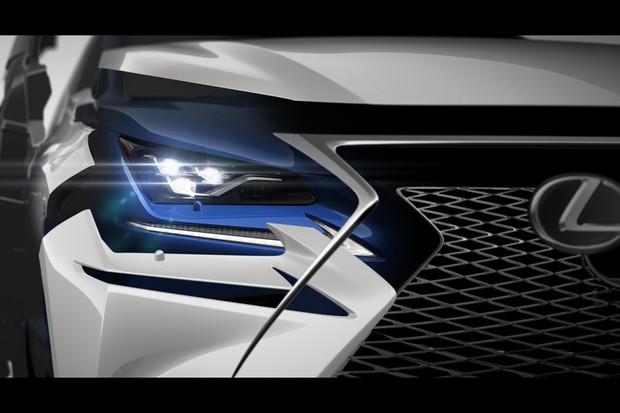 Novo Lexus NX 2018 (Foto: Divulgação)