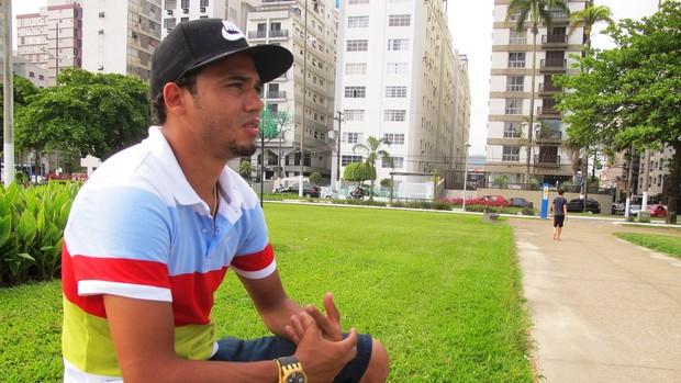 adriano santos (Foto: Marcelo Hazan / GloboEsporte.com)