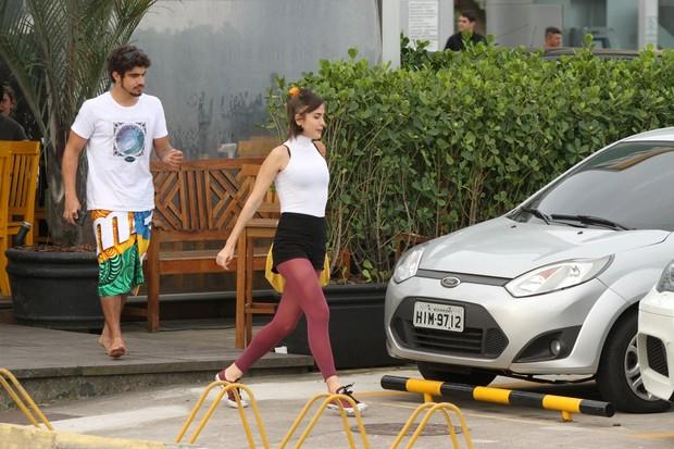 Maria Casadevall e Caio Castro (Foto: Gabriel Rangel / AgNews)