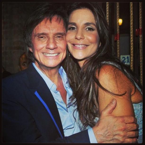 ivete e roberto carlos (Foto: Instagram / Reprodução)