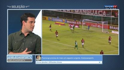 Comentaristas analisam estreia do Flamengo no Carioca e problemas defensivos do time