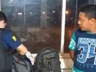 Homem que transportava drogas em ônibus é preso em Dom Eliseu