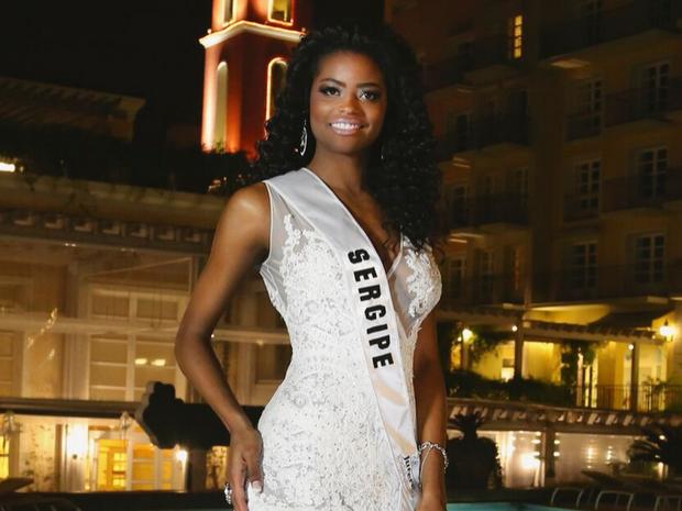 Ana Luísa Castro, de 23 anos, foi eleita Miss Mundo Brasil 2015 representando Sergipe (Foto: Divulgação)