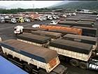 É crítica a situação para descarregar a safra no Porto de Santos, em SP
