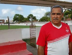 Jairo Santos, técnico do Auto Esporte (Foto: Lucas Barros / Globoesporte.com/pb)