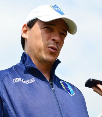 Fernando Diniz técnico Guaratinguetá Audax (Foto: Danilo Sardinha/GloboEsporte.com)