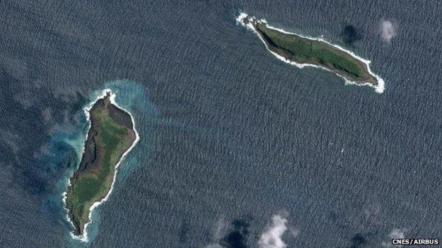Ilha está localizada no arquipélago de Tonga, no sul do oceano Pacífico (Foto: GP Orbassano/BBC)