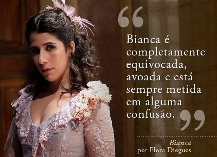 Bianca (Flora Diegues) (Foto: Gshow)