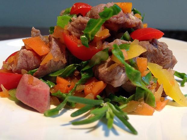 Dieta inclui diversos alimentos necessários para a nutrição do animal (Foto: Divulgação)
