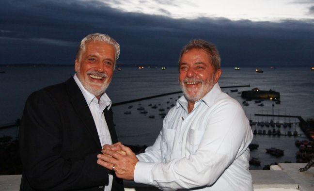Jaques Wagner e Lula (Foto: Divulgação)