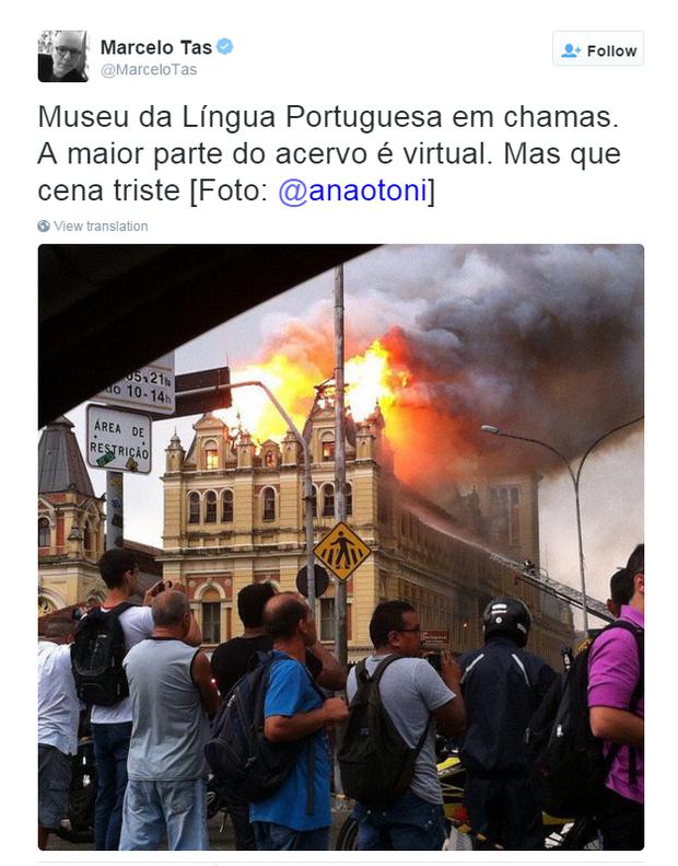 Marcelo Tas (Foto: Twitter / Reprodução)