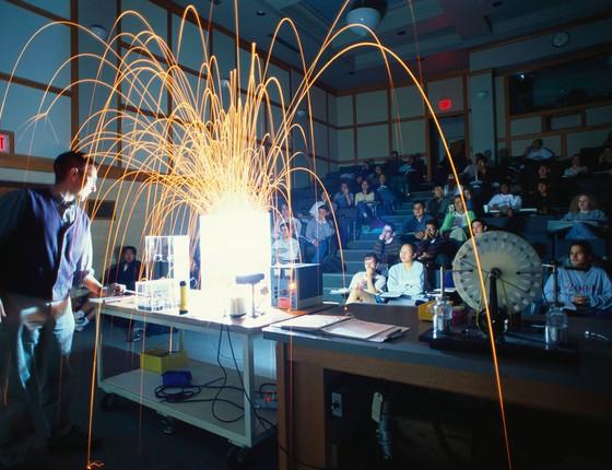Instituto de Tecnologia de Massachussetts (MIT), nos Estados Unidos, fundado em 1861, mostra como uma universidade voltada ao empreendedorismo ajuda o país a se desenvolver (Foto: George Steinmetz/Getty Images)