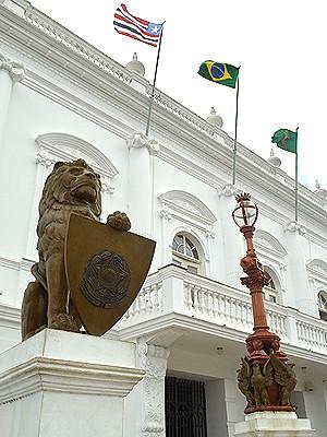 Palácio dos Leões, em São Luís (MA) (Foto: Maurício Araya / G1)